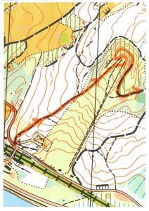 Solstaloppet XC MTB - Bryngfjordstoppen - Karta OL
